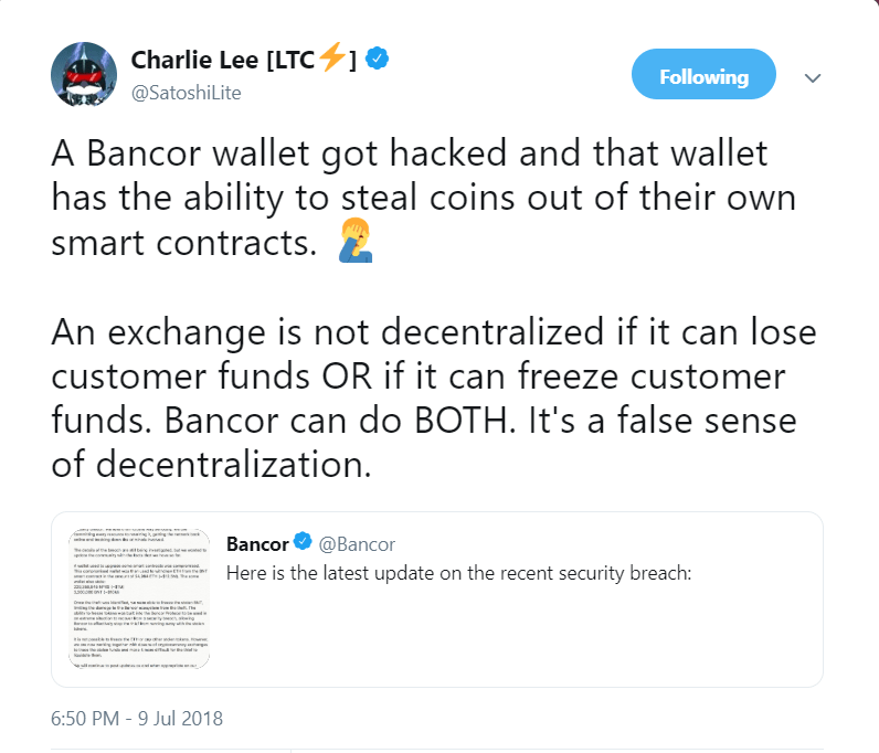 Can Exchange be Fully Decentralized?
