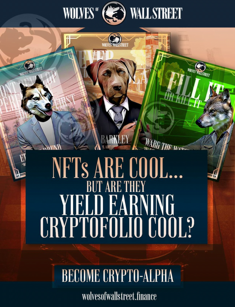 Wolf of Wall Street (WOWS) Review 2021: The World's First Implementation of SFTs as a CRYPTOFOL 1
